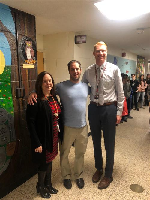 Mr. Christopher Barba - EB Teacher of the Year